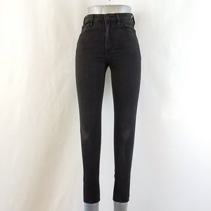 Bullhead Super Hi-Rise Skinny Shortest Jeans